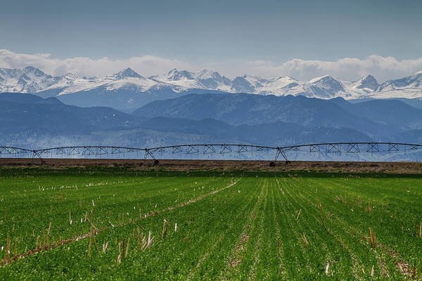 Photograph - Rocky Mountain Farming View by James BO Insogna