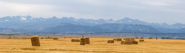 Photograph - Rocky Mountain Front Range Agriculture Panorama by James BO Insogna