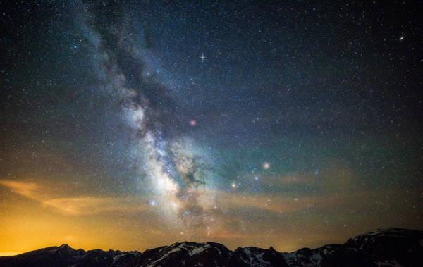Photograph - Rocky Mountain Heavens by Darren White