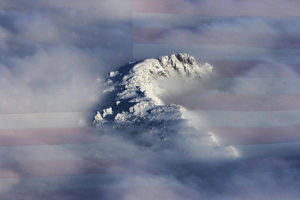 Photograph - Rocky Mountain High - America The Beautiful by James BO Insogna
