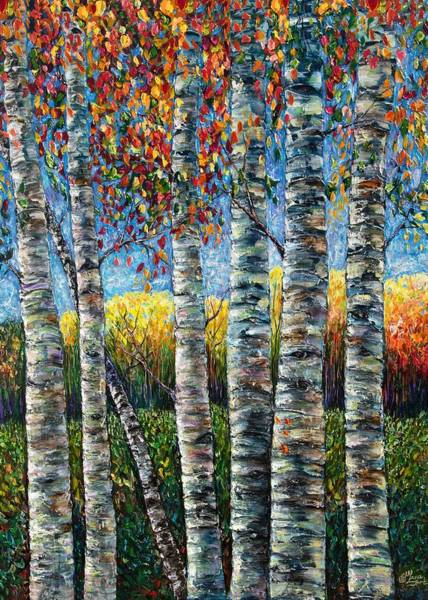 Painting - Rocky Mountain High by OLena Art - Lena Owens