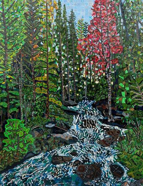 Wall Art - Painting - Rocky Mountain National Park 2 by Micah Mullen