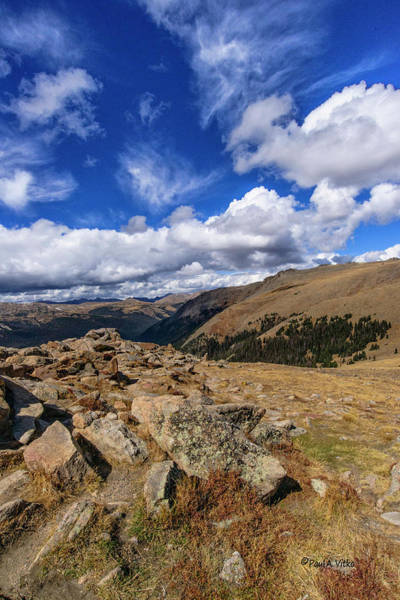 Photograph - Rocky Mountain National Park Colorado by Paul Vitko