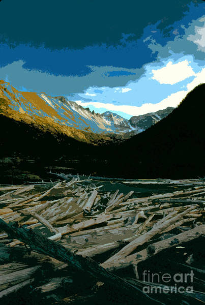 Wall Art - Painting - Rocky Mountain National Park by David Lee Thompson