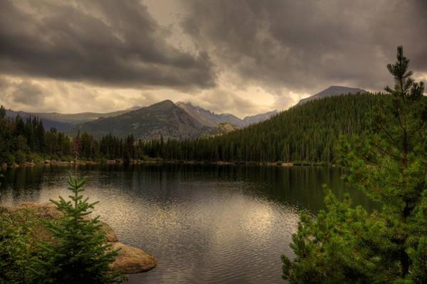 Rocky Mountain National Park Lake Art Print by Patrick  Flynn