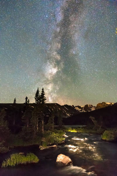 Roosevelt National Forest Photograph - Rocky Mountain Night by James BO Insogna