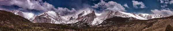 Photograph - Rocky Mountain Panorama - 2  by OLena Art Brand
