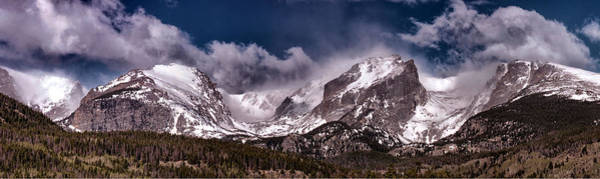 Photograph - Rocky Mountain Panorama by OLena Art Brand