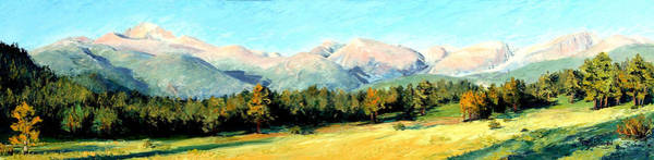 Rocky Mountain Panoramic Art Print