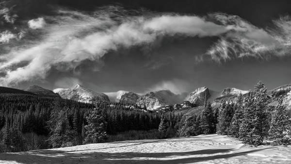 Digital Art - Rocky Mountain Park  by OLena Art Brand