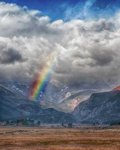 Photograph - Rocky Mountain Rainbow 2 by Susan Rissi Tregoning