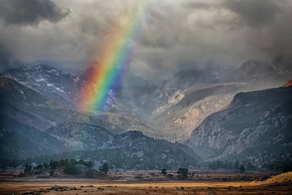 Photograph - Rocky Mountain Rainbow by Susan Rissi Tregoning