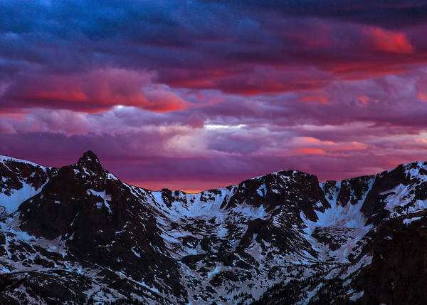 Photograph - Rocky Mountain Sunset by James Menzies
