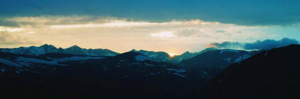 Wall Art - Photograph - Rocky Mountain Sunset by Thomas Bomstad