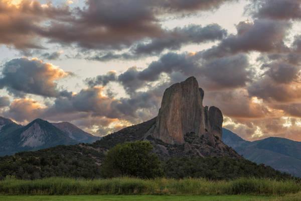 Photograph - Rocky Outcrop At Dawn by Denise Bush