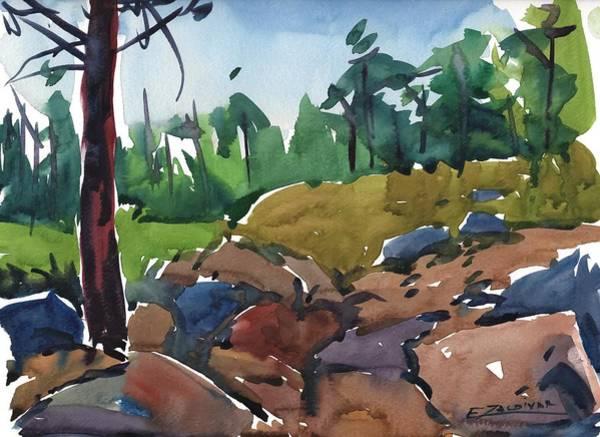 Rocky Passage Art Print