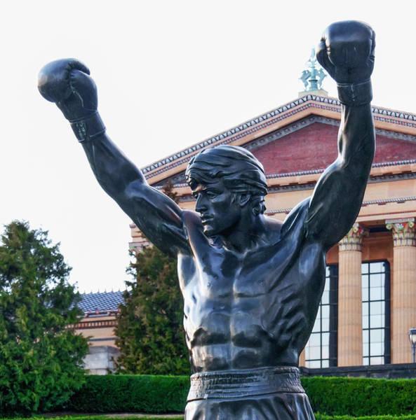 Photograph - Rocky - Philadelphia by Bill Cannon
