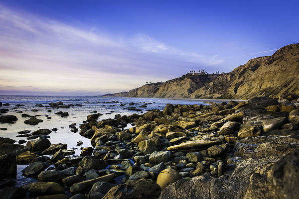 Scripps Pier Photograph - Rocky Point by ElizabethAnn Linder