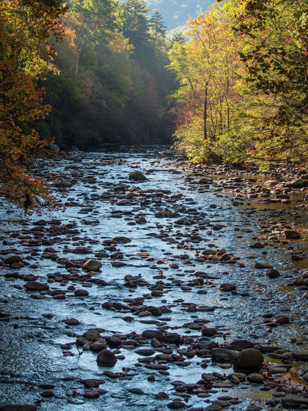 Photograph - Rocky River Bed by Stewart Helberg