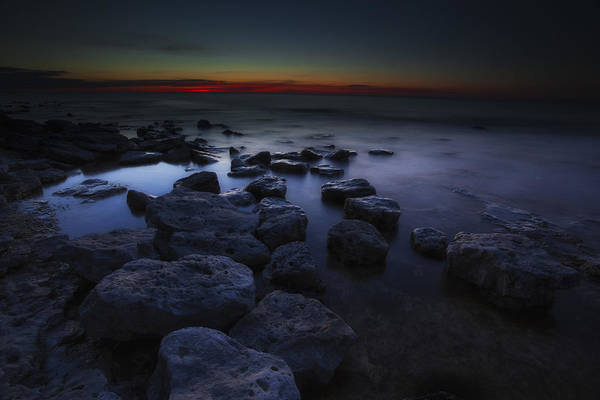 Photograph - Rocky Shore by CA  Johnson
