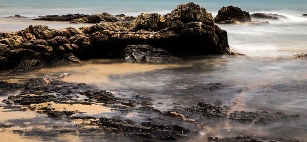 Wall Art - Photograph - Rocky Shore In Color by Georgia Fowler