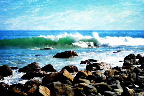 Photograph - Rocky Shoreline - Dana Point by Glenn McCarthy