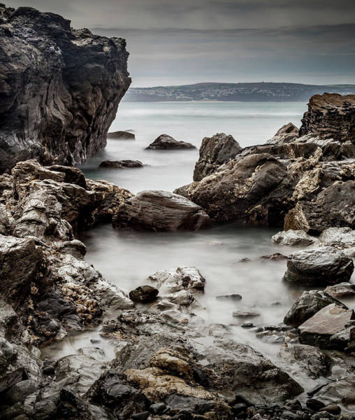 Ives Photograph - Rocky Shoreline by Nigel Jones