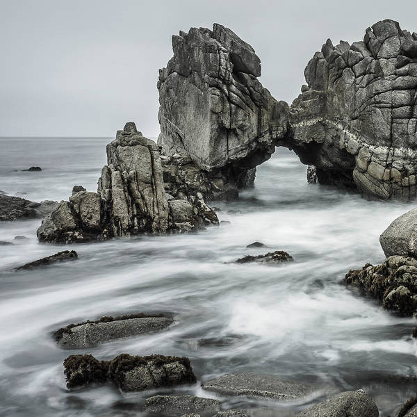 Wall Art - Photograph - Rocky Shores by Steve Spiliotopoulos