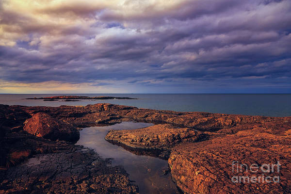 Photograph - Rocky Storm Two by Rachel Cohen