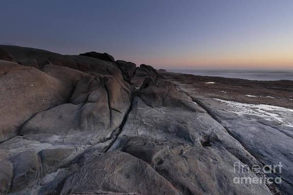 Wall Art - Photograph - Rocky Terrain By The Ocean by Masako Metz