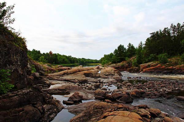 Sturgeon River Photograph - Rocky Terrain by Debbie Oppermann
