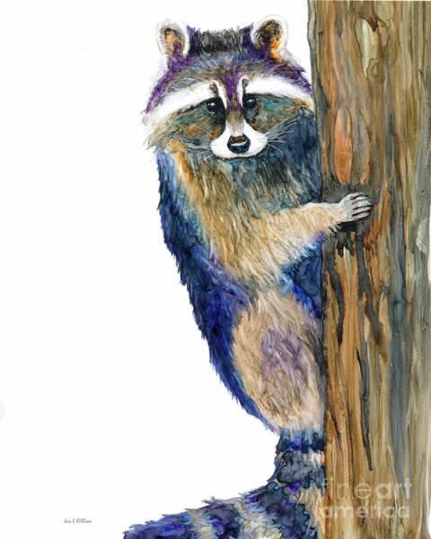 Painting - Rocky Up A Tree by Jan Killian