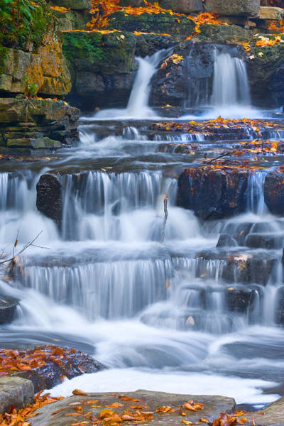 Photograph - Rocky Waterfall by David Heilman