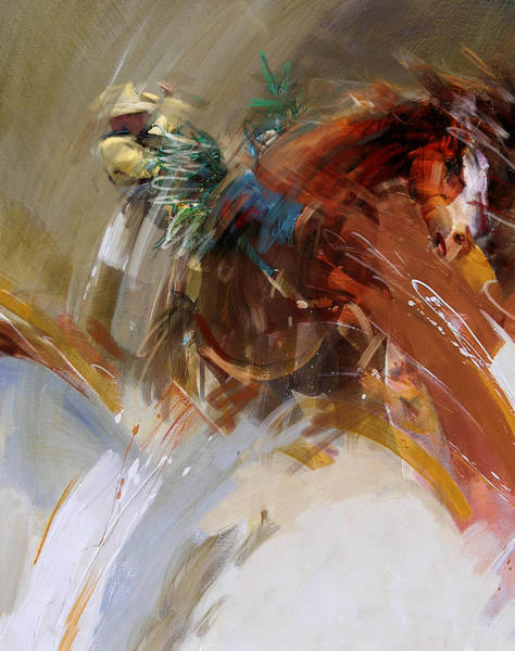 Wall Art - Painting - Rodeo 15 by Maryam Mughal