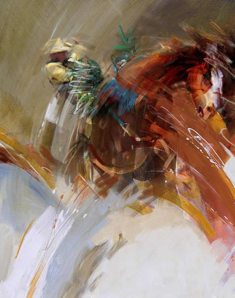 Arlington County Wall Art - Painting - Rodeo 16 by Maryam Mughal