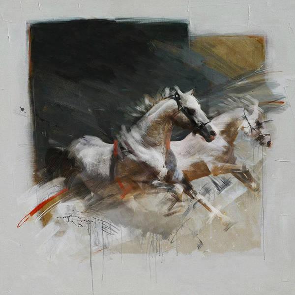 Arlington County Wall Art - Painting - Rodeo 19 by Maryam Mughal