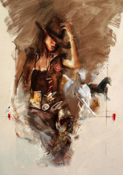 Wall Art - Painting - Rodeo 22 by Maryam Mughal