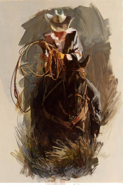 Arlington County Wall Art - Painting - Rodeo 29 by Maryam Mughal