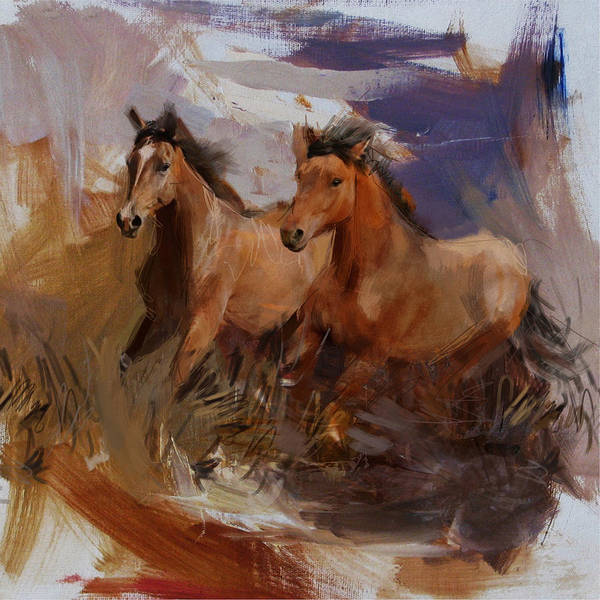 Arlington County Wall Art - Painting - Rodeo 38 by Maryam Mughal