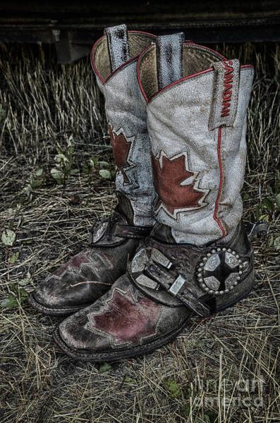 Wall Art - Photograph - Rodeo Boots 2 by Bob Christopher