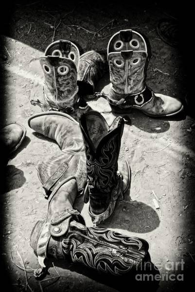 Gus Photograph - Rodeo Boots And Spurs by Gus McCrea
