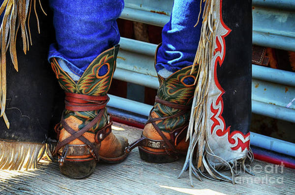 Wall Art - Photograph - Rodeo Boots by Bob Christopher