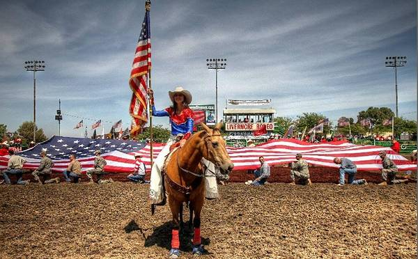Photograph - Rodeo Queen by John King