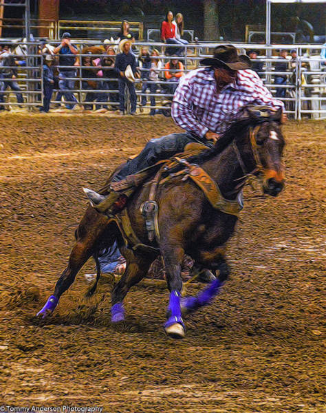 Norco Photograph - Rodeo Rawhide Race 1 by Tommy Anderson