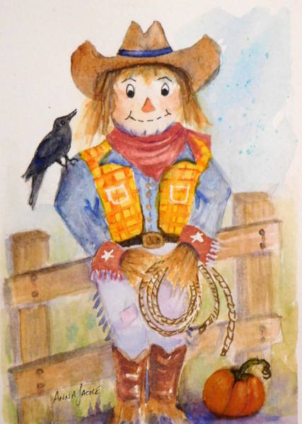 Painting - Rodeo Sam by Anna Jacke