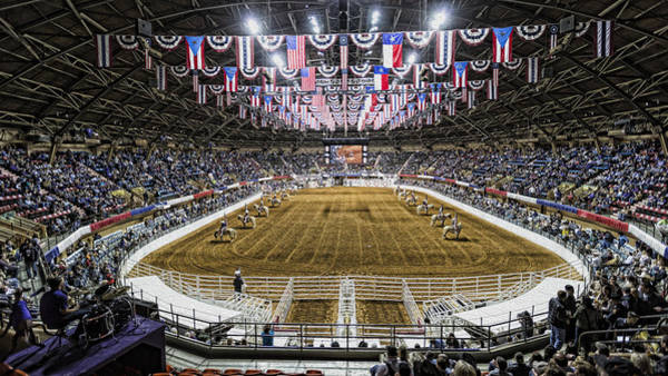 Bunting Photograph - Rodeo Time In Texas by Stephen Stookey