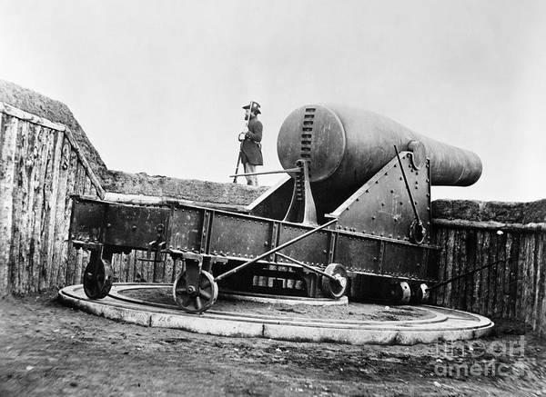 Mathew Photograph - Rodman Gun, Civil War by Granger