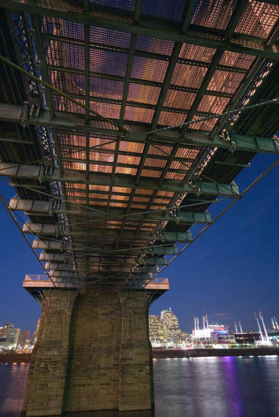 Photograph - Roebeling Bridge At Night by Russell Todd