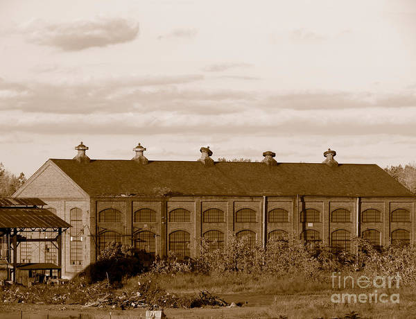Photograph - Roebling Steel Mill Factory Building by Olivier Le Queinec