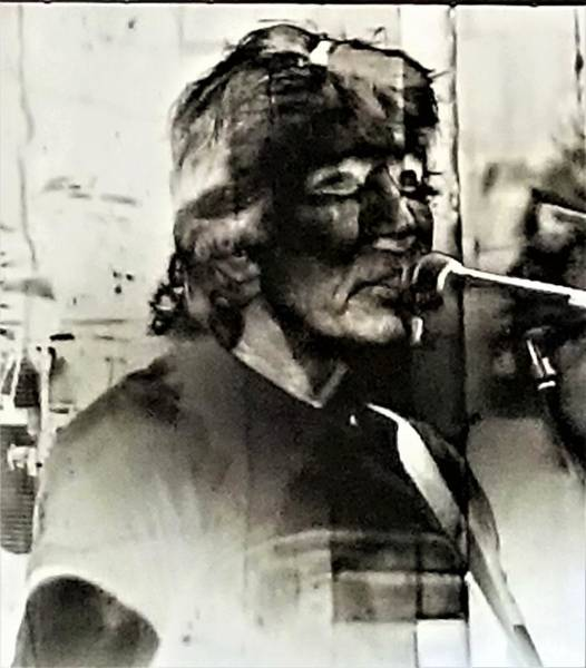 Photograph - Roger Waters Negative 1 by Rob Hans